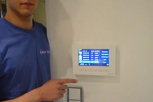 Feininstallation (Schalter / Steckdose), Im System - Bildschirm für Sprechanlage
